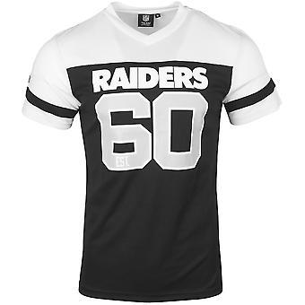 Oakland Raiders grau Majestic Sideprint Longsleeve