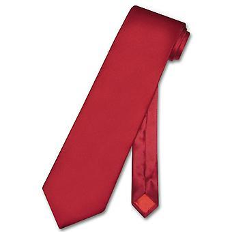 Biagio 100% SILK NeckTie EXTRA LONG Solid Men's XL Neck Tie