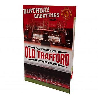 Carte d'anniversaire de Manchester United Pop-Up