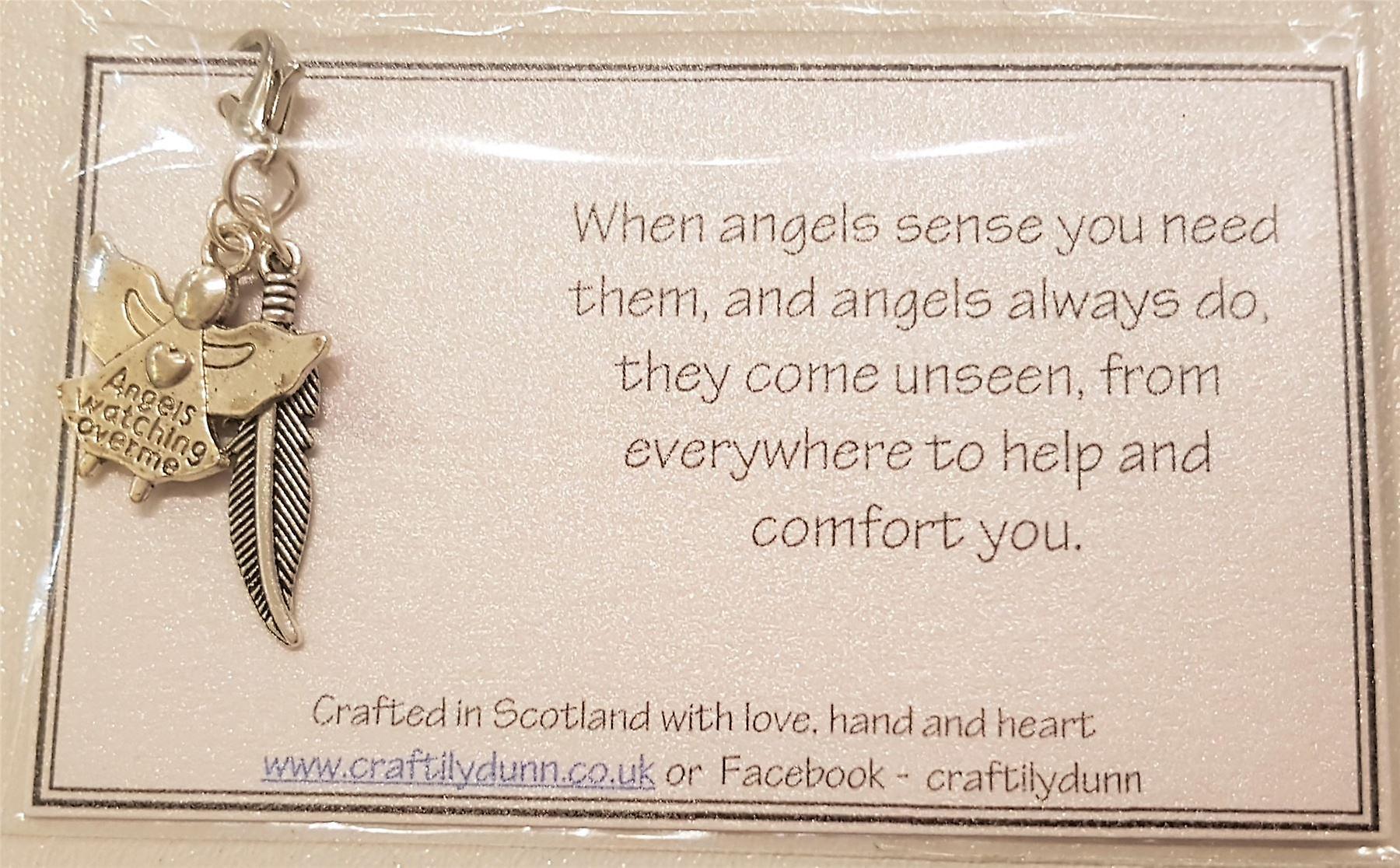 Craftilydunn Angel Memorial Card V2