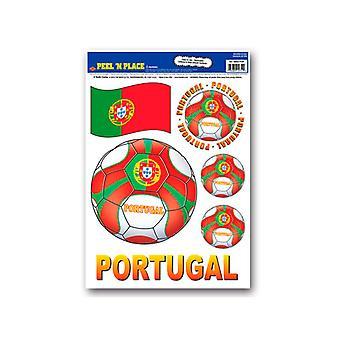 Portugal-Peel ' n ' entfernbaren Sticker platzieren