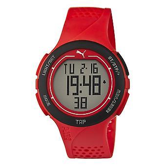 PUMA montre poignet rouge unisexe touch noir numérique PU911211002