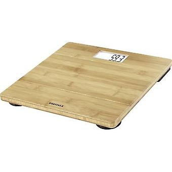 Soehnle Bamboo Digital bathroom scales Weight range=180 kg Bamboo