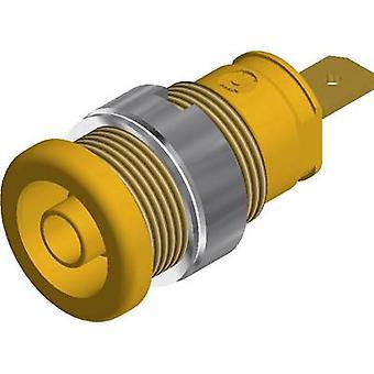 SKS Hirschmann SEB 2610 F4, jack de segurança 8 socket Socket, diâmetro do pino vertical vertical: 4mm amarelo 1 computador (es)