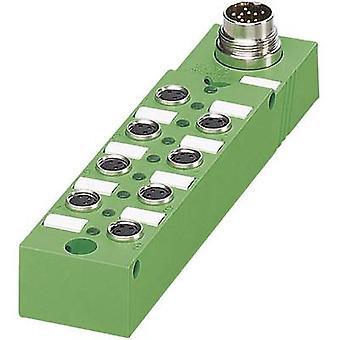 Sensor & actuator box (passive) M8 splitter + steel thread SACB- 8/3-L-M16-M8 1516205 Phoenix Contact 1 pc(s)