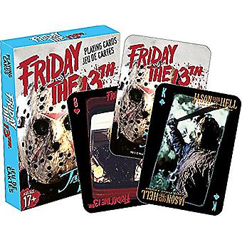 Friday 13Th Movie Set Of Playing Cards 52319