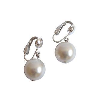 Gemshine - dames - bijoux - perles - Tahiti - blanc 12 mm - argent 925-
