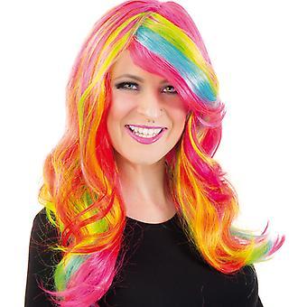 Paryk slik slik hår Unicorn paryk