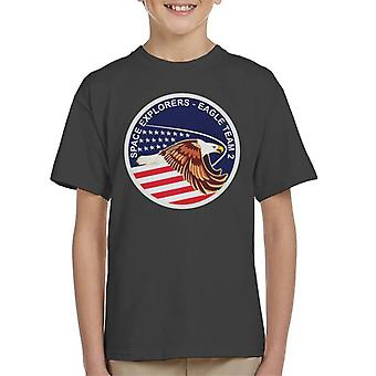 NASA STS 51I Space Shuttle Discovery Mission Patch Kid's T-Shirt