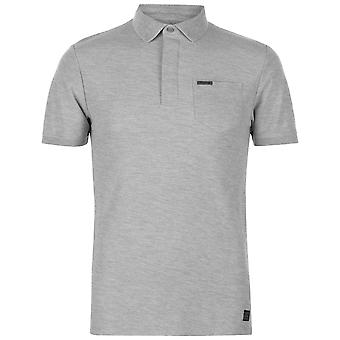 Firetrap Mens TxCllar Polo Slim Fit camisa Tee Top