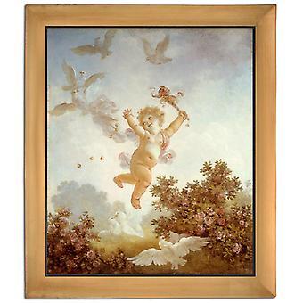 Med RAM Jester, Jean-Honore Fragonard, 61x51cm