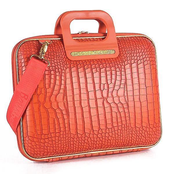 Gold Cocco Bombata briefcase Arezzo by Fabio Guidoni