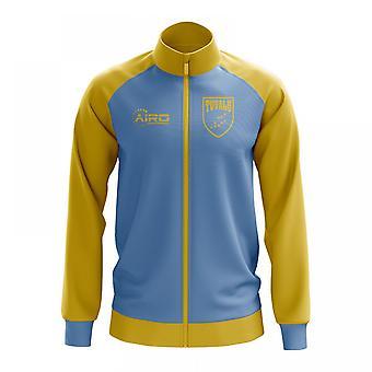 Tuvalu käsite jalkapallo Track Jacket (Sky)