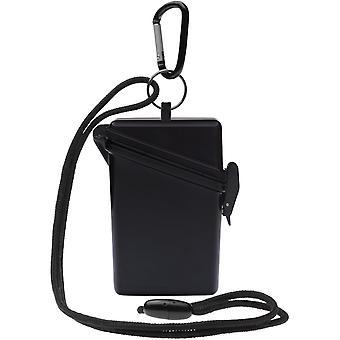 Witz houden het veilige lichtgewicht waterdichte Sport Case - zwart