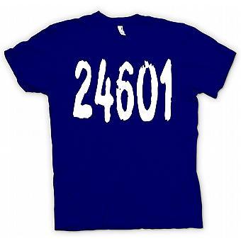 Kinder T-shirt-24601 - Jeann Valjean Gefängnis Anzahl