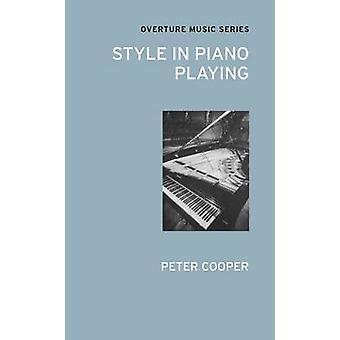 نمط في العزف على البيانو بيتر كوبر-كتاب 9780714543765