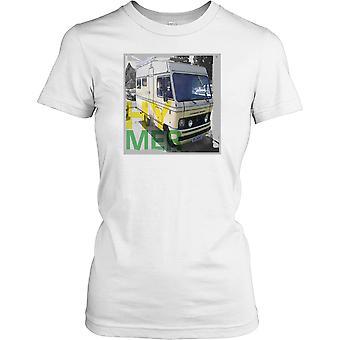 Hymer AG husbil damer T Shirt