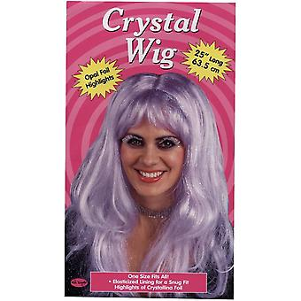 Crystal Purple Wig For Women