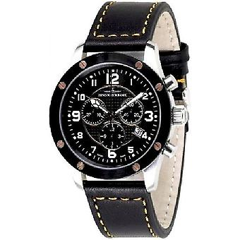 Zeno-watch Herre ur af skruer 5030 chronograph 9530Q-SBR-h1