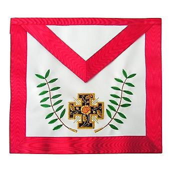 Masonic AASR - 18th degree - Knight Rose-Croix - Patted cross + acacia twigs