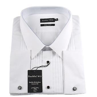 Double Two Stitch Pleat Dress Shirt
