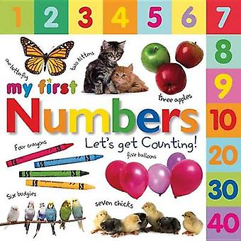 My First Numbers - Let's Get Counting by DK Publishing - 9780756636043