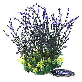 Betta Choice Purple Plastic Plant 20cm