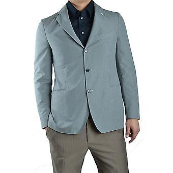 Piombo Ezbc313002 Men's Light Blue Cotton Blazer