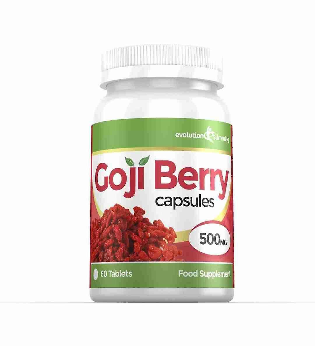 Goji Berry Extract 5,000mg High Strength Capsules - 60 Capsules - Antioxidant - Evolution Slimming