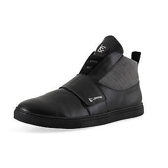 Strap High Top Boots