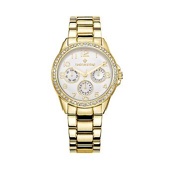 Timothy Stone Women's KATY Gold-Tone Watch