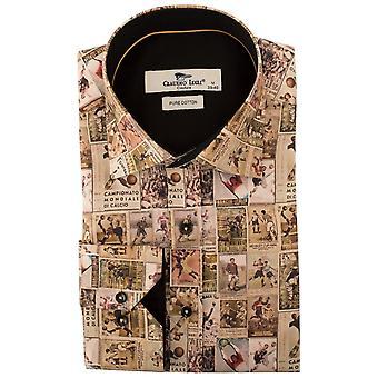 كلاوديو لوجلي خمر لاعبي كرة القدم طباعة قميص رجالي