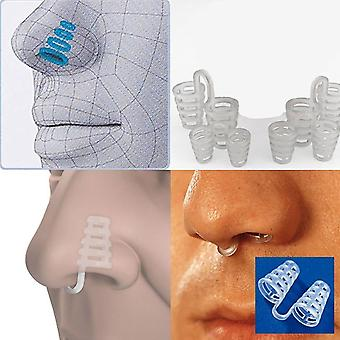 4 Pieces - Anti-snoring Nose Dilatators - Transparent Soft and Comfortable - Suitable for Improving Breathing During Sports