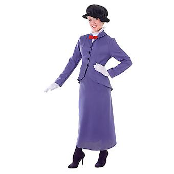 Bristol Novelty Womens/Ladies Nanny Costume