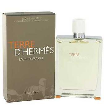 Terre d'Hermes av Hermes Eau Tres fraiche Eau de Toilette Spray 4,2 oz (herrar) V728-518220