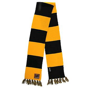 Sciarpa a righe di Harry Potter Hufflepuff Patch