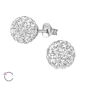 Gnistbildning crystal från Swarovski® - 925 Sterling Silver öra dubbar - W36081X