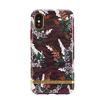 Richmond & Finch shells voor IPhone XS Max-Floral Zebra