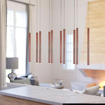Canalis 10 Mini Pendant Lighting Copper