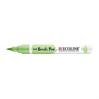 Talens Ecoline Liquid Watercolour Brush Pen - 666 Pastel Green