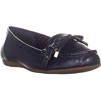 Charter Club CC35 Betseyy Flat Loafers, Navy, 7 US