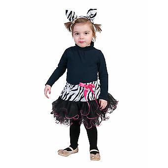 Zebra Children Costume Africa Zebra Costume Wilderness Costume Kids Carnival Animal Costume