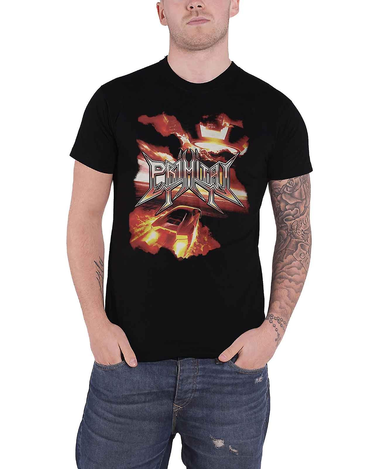 Primitai T Shirt The Calling Band Logo new Official Mens Black