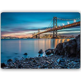 Stampa in metallo, Bay Bridge a San Francisco