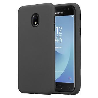 Cadorabo Hülle für Samsung Galaxy J3 2017 Case Cover - Hybrid Handyhülle mit TPU Silikon Innenseite und 2teiliger Kunststoff Außenseite – Schutzhülle Hybrid Hardcase Back Case