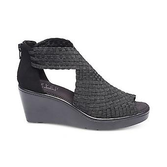 Steven by Steve Madden Womens Ace Fabric Peep Toe Special Occasion T-Strap Sa...