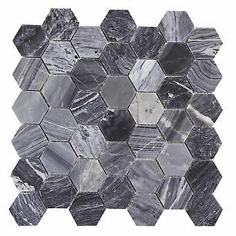 Mosaik D-sign Hexagon Marble Grey