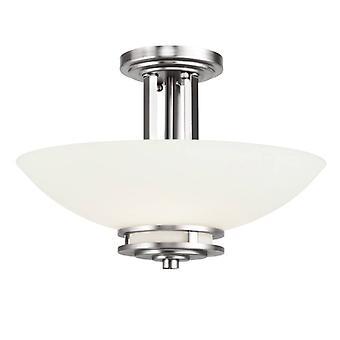 2 Lights Semi Flush  Hendrik