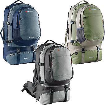 Caribee Jet Pack 65L ajustable acolchado de dos correas mochila de viaje mochila mochila bolsa