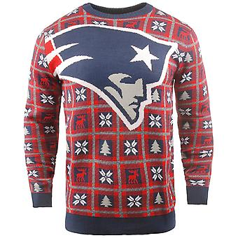 NFL Ugly Sweater XMAS Knit Sweater - New England Patriots